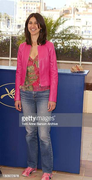 Olivia Magnani during 2004 Cannes Film Festival 'The Consequences Of Love' Photocall at Palais Du Festival in Cannes France