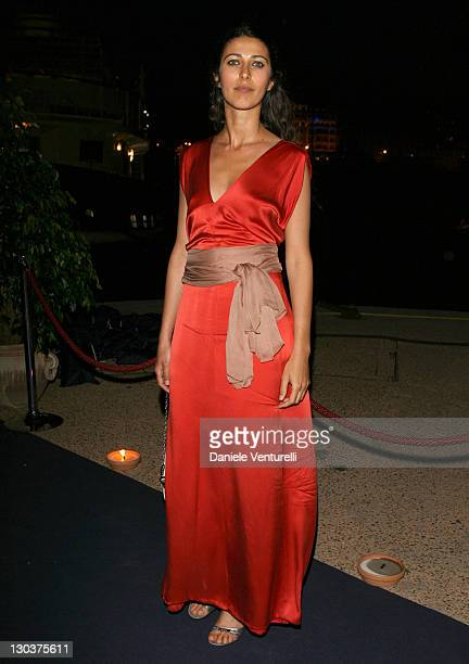 Olivia Magnani during 2007 Cannes Film Festival Cocktail Party Hosted by Alberta Ferretti in Cannes France