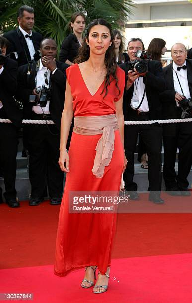 Olivia Magnani during 2007 Cannes Film Festival 'Promise Me This' Premiere at Palais des Festivals in Cannes France