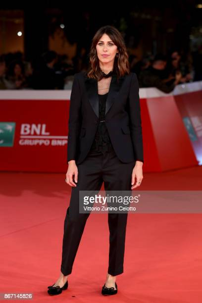 Olivia Magnani walks a red carpet for 'Una Questione Privata Red' during the 12th Rome Film Fest at Auditorium Parco Della Musica on October 27 2017...