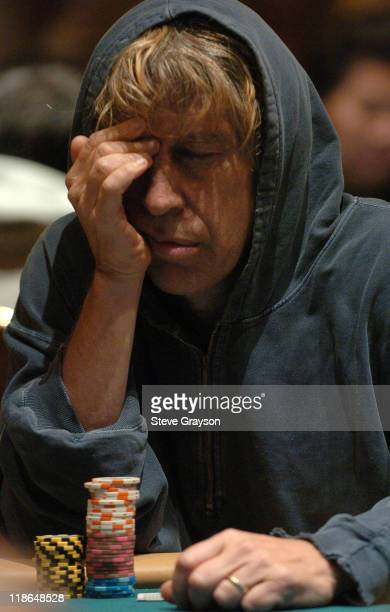 Olivia Mendel competes in day two of the World Poker Tour's Doyle Brunson North American Poker Championship at the Bellagio Hotel in Las Vegas Nevada...