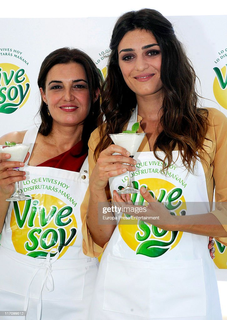 Olivia and Monica Molina Present 'Vivesoy' Milk Shakes