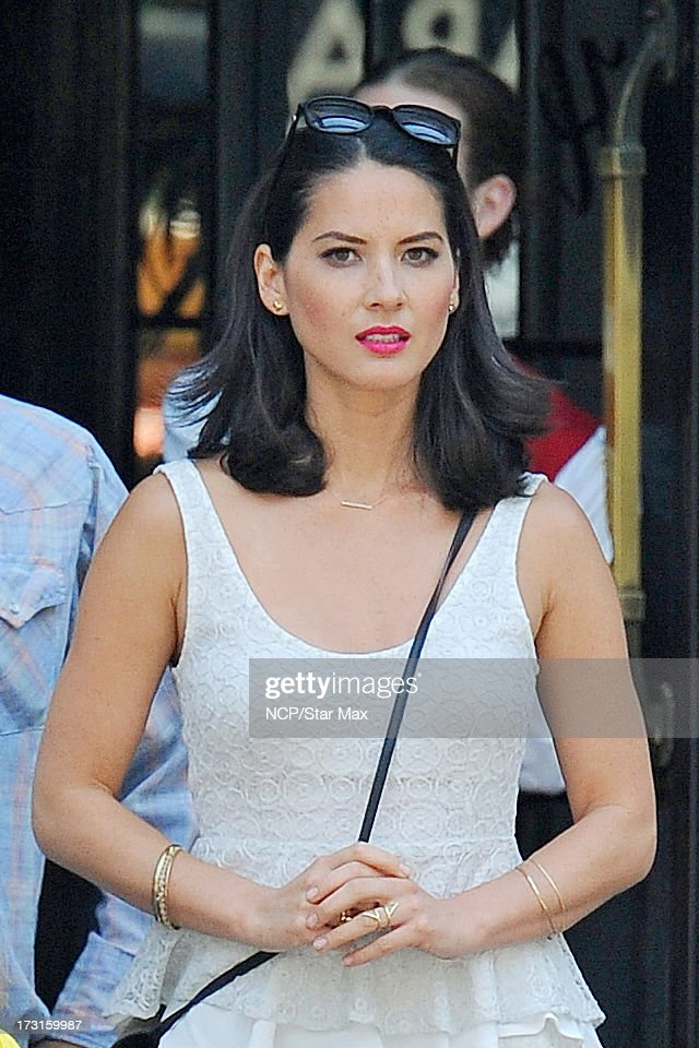 <a gi-track='captionPersonalityLinkClicked' href=/galleries/search?phrase=Olivia+Munn&family=editorial&specificpeople=598969 ng-click='$event.stopPropagation()'>Olivia Munn</a> as seen on July 8, 2013 in New York City.