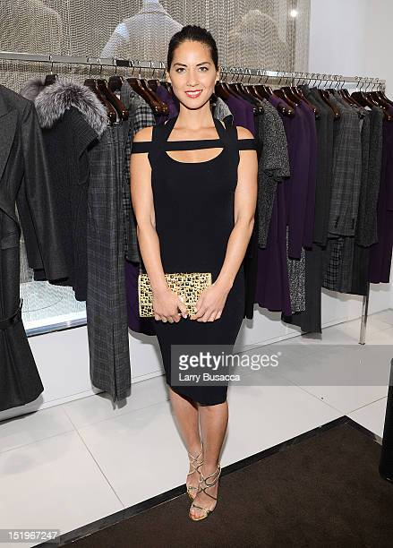 Olivia Munn attends Kors Collaborations Claiborne Swanson Frank on September 13 2012 in New York City