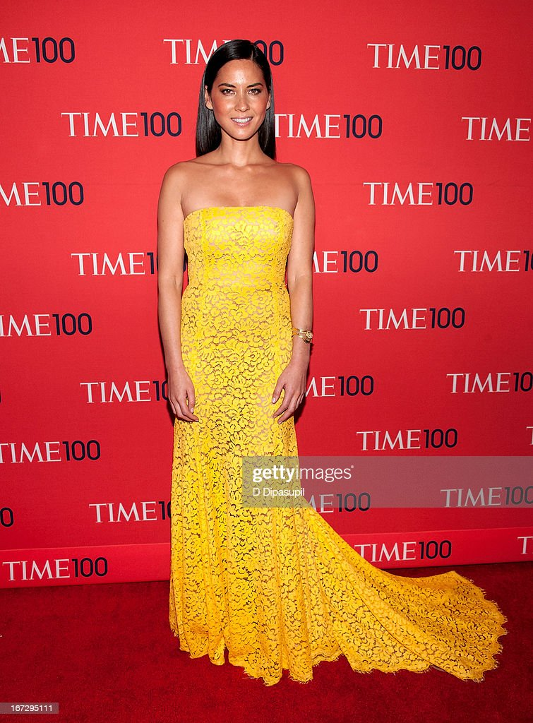 Olivia Munn attends the 2013 Time 100 Gala at Frederick P. Rose Hall, Jazz at Lincoln Center on April 23, 2013 in New York City.