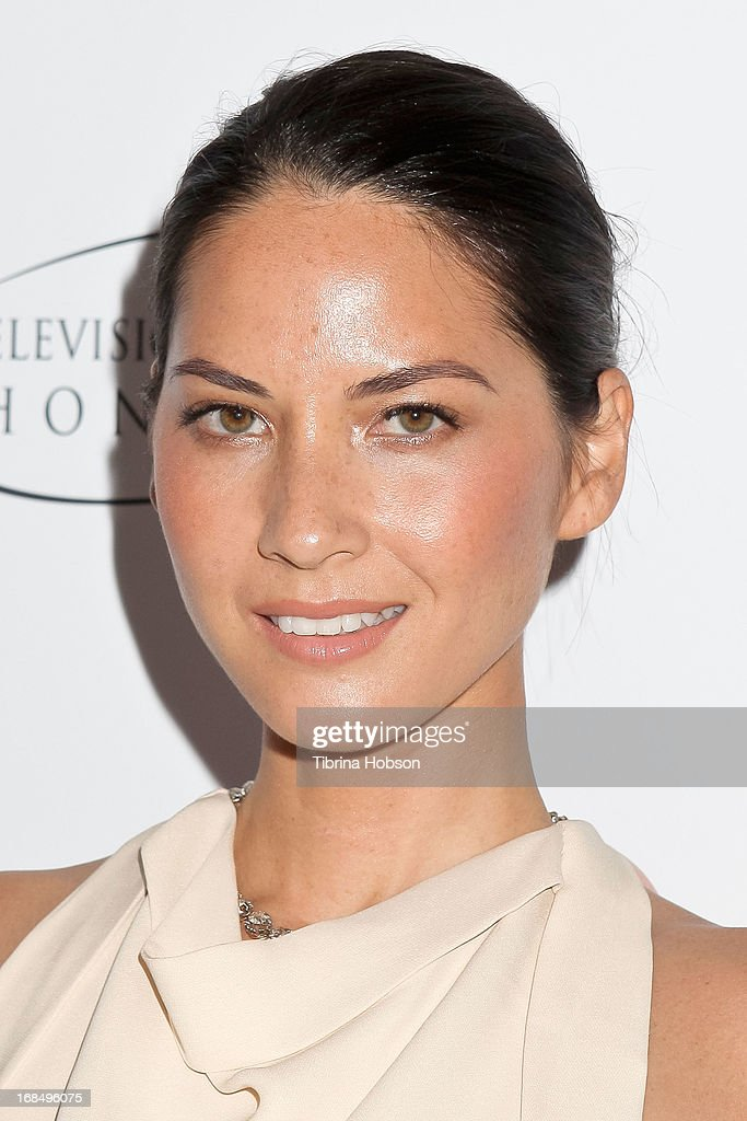 <a gi-track='captionPersonalityLinkClicked' href=/galleries/search?phrase=Olivia+Munn&family=editorial&specificpeople=598969 ng-click='$event.stopPropagation()'>Olivia Munn</a> attends the 6th annual Television Academy Honors at Beverly Hills Hotel on May 9, 2013 in Beverly Hills, California.