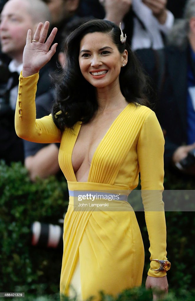 Olivia Munn attends the 'Charles James: Beyond Fashion' Costume Institute Gala at the Metropolitan Museum of Art on May 5, 2014 in New York City.