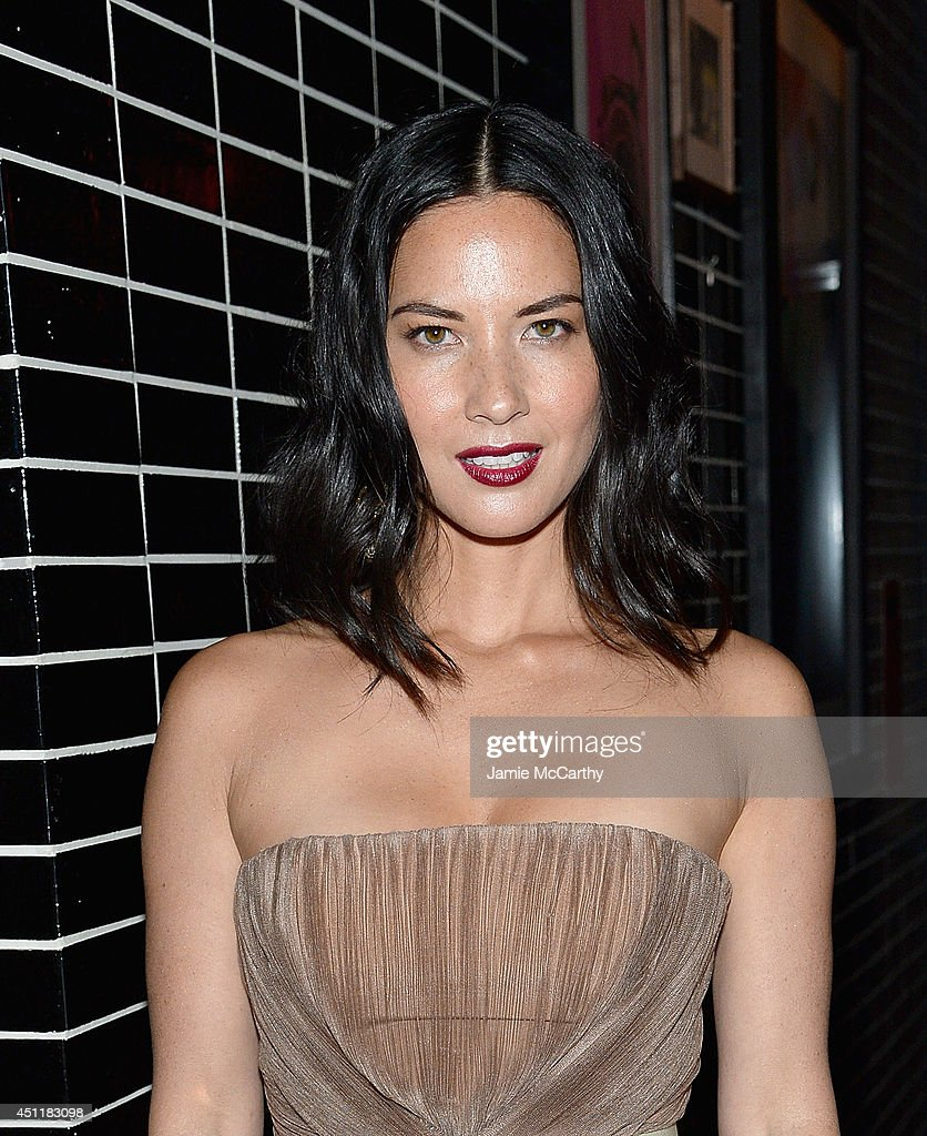 <a gi-track='captionPersonalityLinkClicked' href=/galleries/search?phrase=Olivia+Munn&family=editorial&specificpeople=598969 ng-click='$event.stopPropagation()'>Olivia Munn</a> attends the 'Deliver Us From Evil' screening after party hosted by Screen Gems & Jerry Bruckheimer Films with The Cinema Society at The Skylark on June 24, 2014 in New York City.