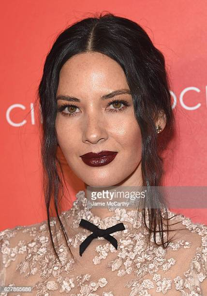 Olivia Munn attends the Paramount Pictures with The Cinema Society Svedka host a screening of 'Office Christmas Party' at Landmark Sunshine Cinema on...