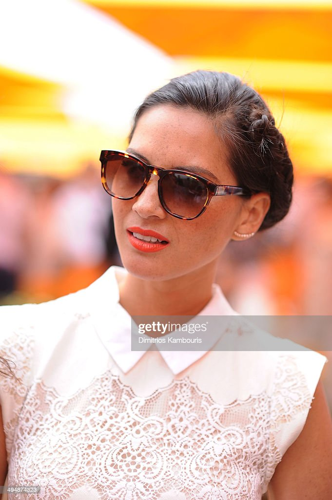 Olivia Munn attends the seventh annual Veuve Clicquot Polo Classic in Liberty State Park on May 31, 2014 in Jersey City City.