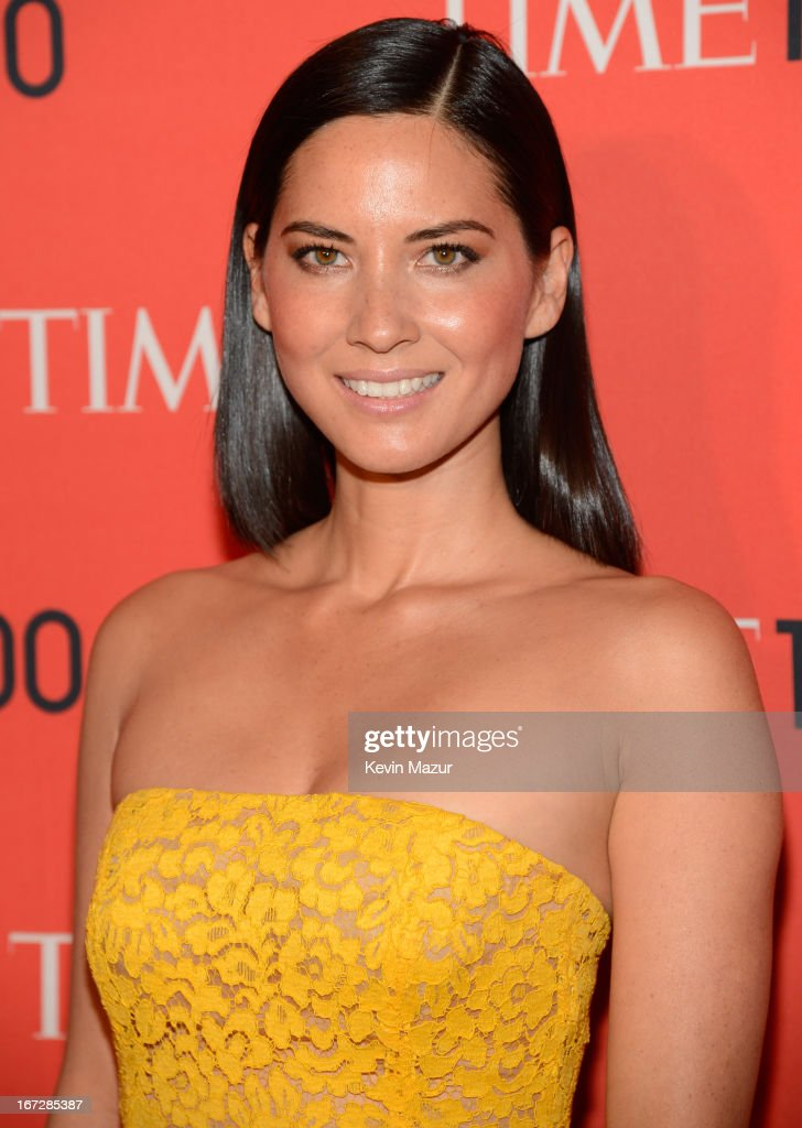 Olivia Munn attends TIME 100 Gala, TIME'S 100 Most Influential People In The World at Jazz at Lincoln Center on April 23, 2013 in New York City.