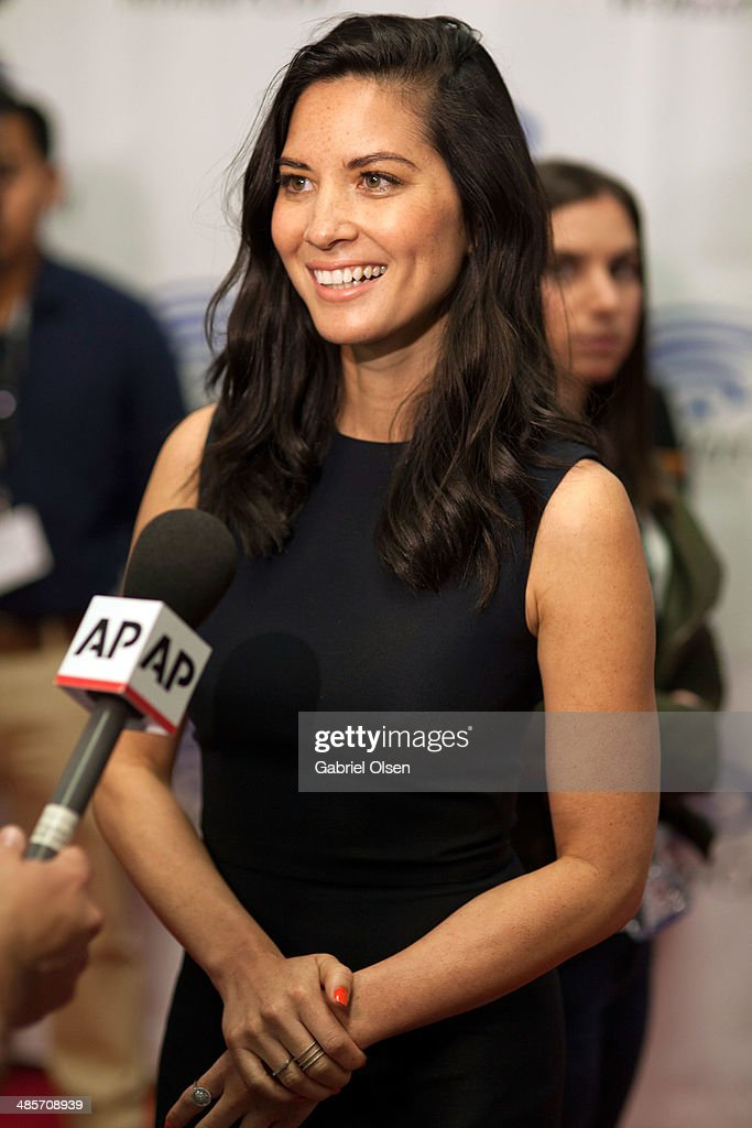 Olivia Munn attends WonderCon Anaheim 2014 - Screen Gems' 'Deliver Us From Evil' Photo Call at Anaheim Convention Center on April 19, 2014 in Anaheim, California.