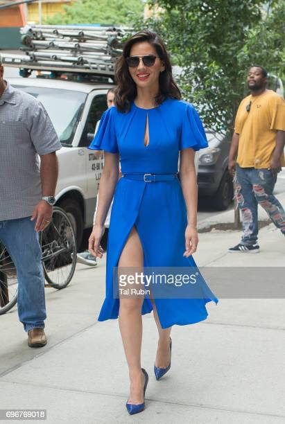 Olivia Munn is seen on June 17 2017 in New York City