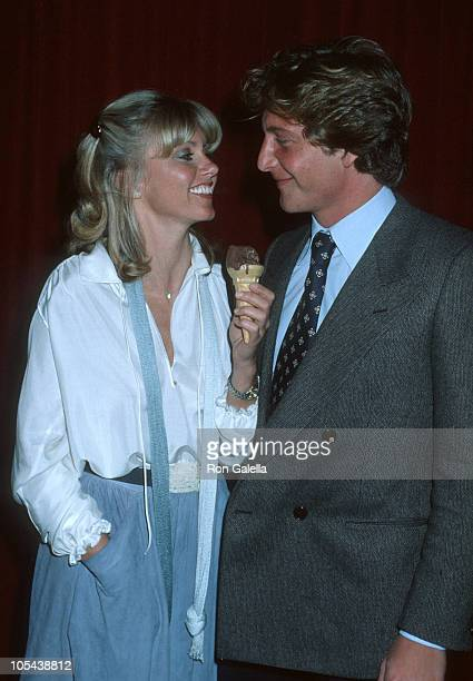 Olivia Newton John and Lee Kramer during 'Paradise Alley' Wrapup Party at Unversal Studio 12 in Los Angeles California United States
