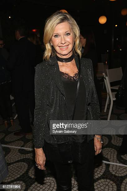 Olivia Newton John attends HBO Presents the New York Red Carpet Premiere of 'Divorce' After Party at La Sirena on October 4 2016 in New York City