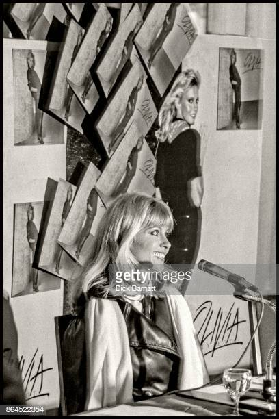 Olivia Newton John promotes her album Seriously Hot at Inn On The Park London 1978
