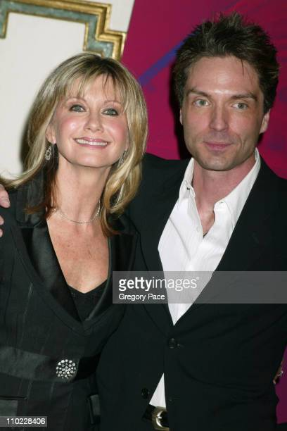 Olivia NewtonJohn and Richard Marx during Tribute to Olivia NewtonJohn at the 'One World One Child' Benefit at The Plaza Hotel in New York City New...