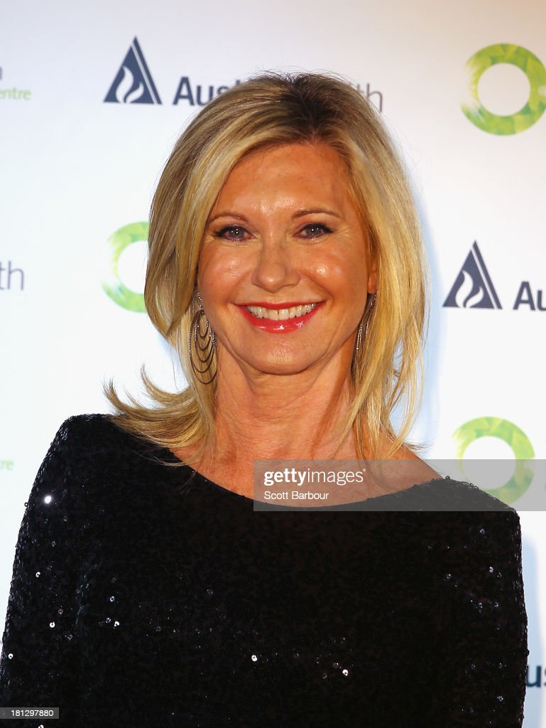 Olivia Newton-John arrives at the inaugural ONJ Gala to raise funds for the Olivia Newton-John Cancer & Wellness Centre at the Regent Plaza Ballroom on September 20, 2013 in Melbourne, Australia.
