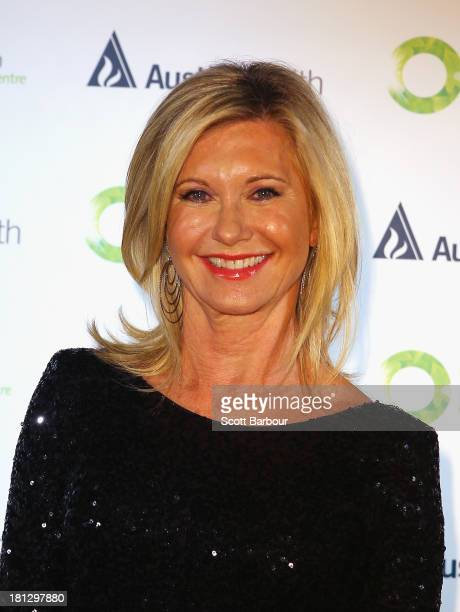 Olivia NewtonJohn arrives at the inaugural ONJ Gala to raise funds for the Olivia NewtonJohn Cancer Wellness Centre at the Regent Plaza Ballroom on...