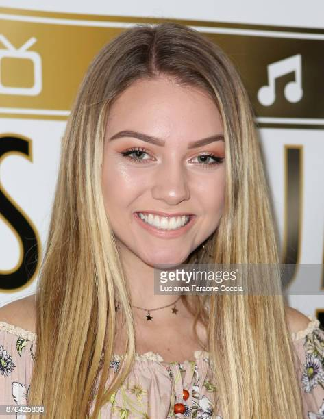 Olivia Ooms attends Gente Unidos concert for Hurricane Relief in Puerto Rico at Whisky a Go Go on November 19 2017 in West Hollywood California