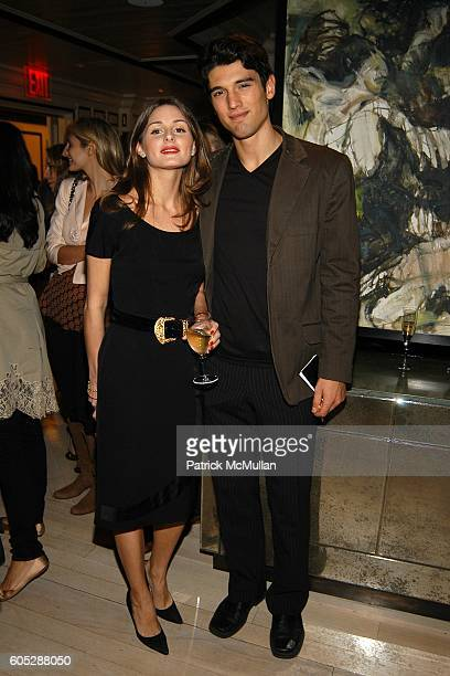 Olivia Palermo and Chris Ford attend GILLES MENDEL Party for TERI HATCHER and her new book BURNT TOAST at BG Restuarant on May 11 2006 in New York...