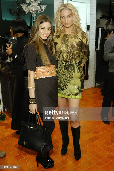 Olivia Palermo and Claire Bernard attend NEW YORKERS FOR CHILDREN SALVIATI CHARITY BENEFIT at Salviati on December 13 2007 in New York City