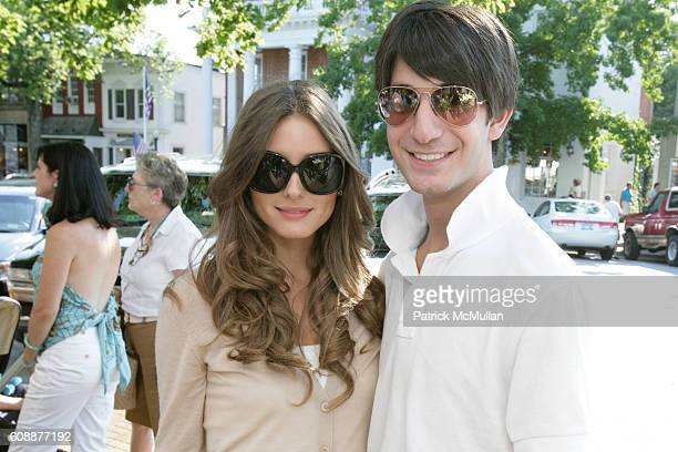 Olivia Palermo and Edward Barsamian attend HATCHLINGS Spring 2008 'HATCH' Boys Collection hosted by ANNETTE LAUER CRISTINA CUOMO and ANA MARIA PEREZ...