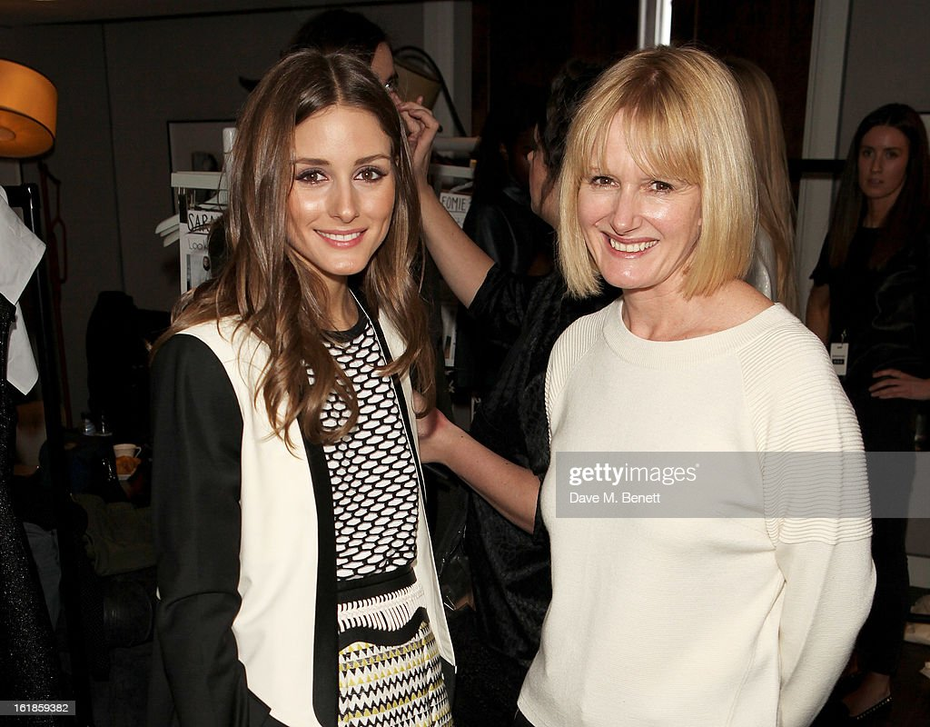 <a gi-track='captionPersonalityLinkClicked' href=/galleries/search?phrase=Olivia+Palermo&family=editorial&specificpeople=2639086 ng-click='$event.stopPropagation()'>Olivia Palermo</a> (L) and <a gi-track='captionPersonalityLinkClicked' href=/galleries/search?phrase=Jane+Shepherdson&family=editorial&specificpeople=3988813 ng-click='$event.stopPropagation()'>Jane Shepherdson</a> attend the Whistles Limited Edition Autumn/Winter 2013 Collection at The Arts Club on February 17, 2013 in London, England.