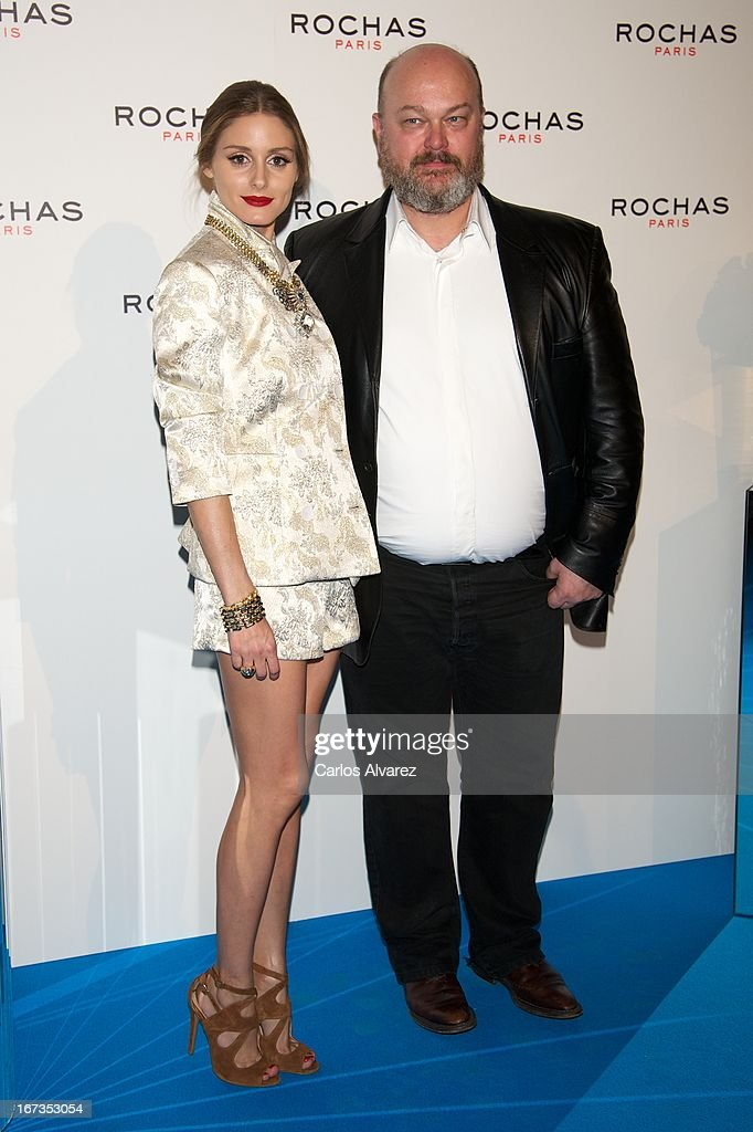 <a gi-track='captionPersonalityLinkClicked' href=/galleries/search?phrase=Olivia+Palermo&family=editorial&specificpeople=2639086 ng-click='$event.stopPropagation()'>Olivia Palermo</a> and Jean Michel Duriez attend the Rochas event at the French embassy on April 24, 2013 in Madrid, Spain.