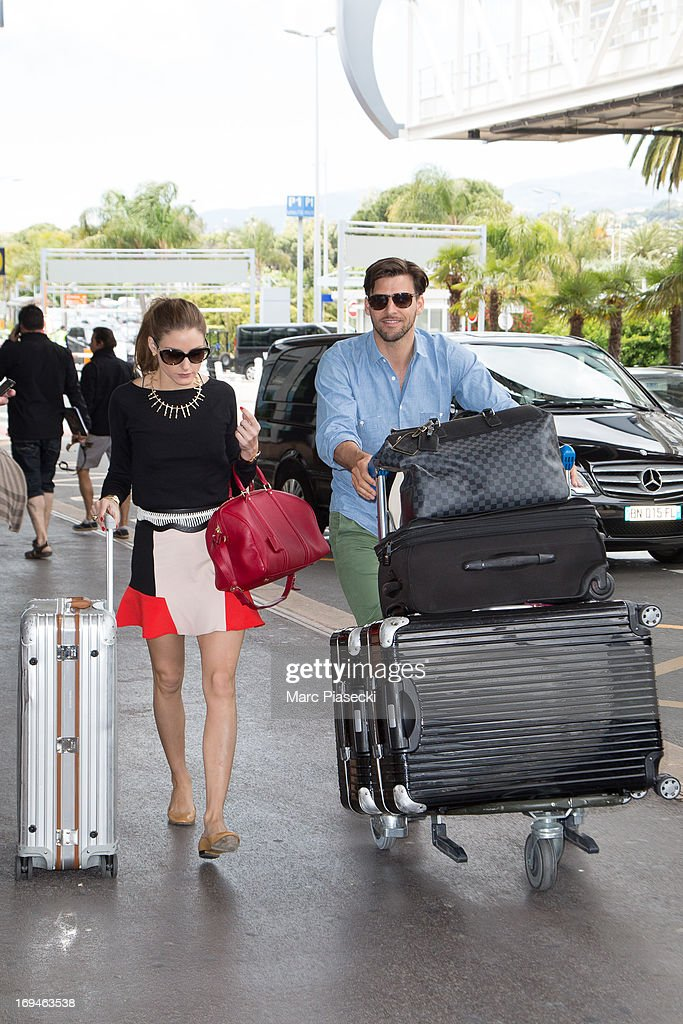 <a gi-track='captionPersonalityLinkClicked' href=/galleries/search?phrase=Olivia+Palermo&family=editorial&specificpeople=2639086 ng-click='$event.stopPropagation()'>Olivia Palermo</a> and <a gi-track='captionPersonalityLinkClicked' href=/galleries/search?phrase=Johannes+Huebl&family=editorial&specificpeople=5696811 ng-click='$event.stopPropagation()'>Johannes Huebl</a> are sighted at Nice airport during the 66th Annual Cannes Film Festival on May 25, 2013 in Nice, France.