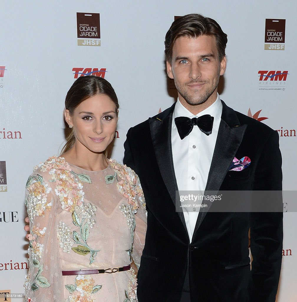 Olivia Palermo and Johannes Huebl attend the Annual Brazil Foundation Gala Party at the American Museum of Natural History on September 19, 2012 in New York City.