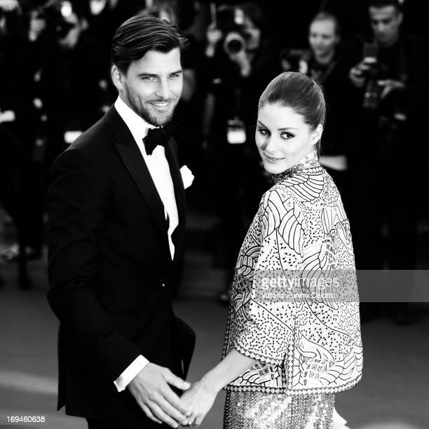 Olivia Palermo and Johannes Huebl attend 'The Immigrant' Premiere during the 66th Annual Cannes Film Festival on May 24 2013 in Cannes France