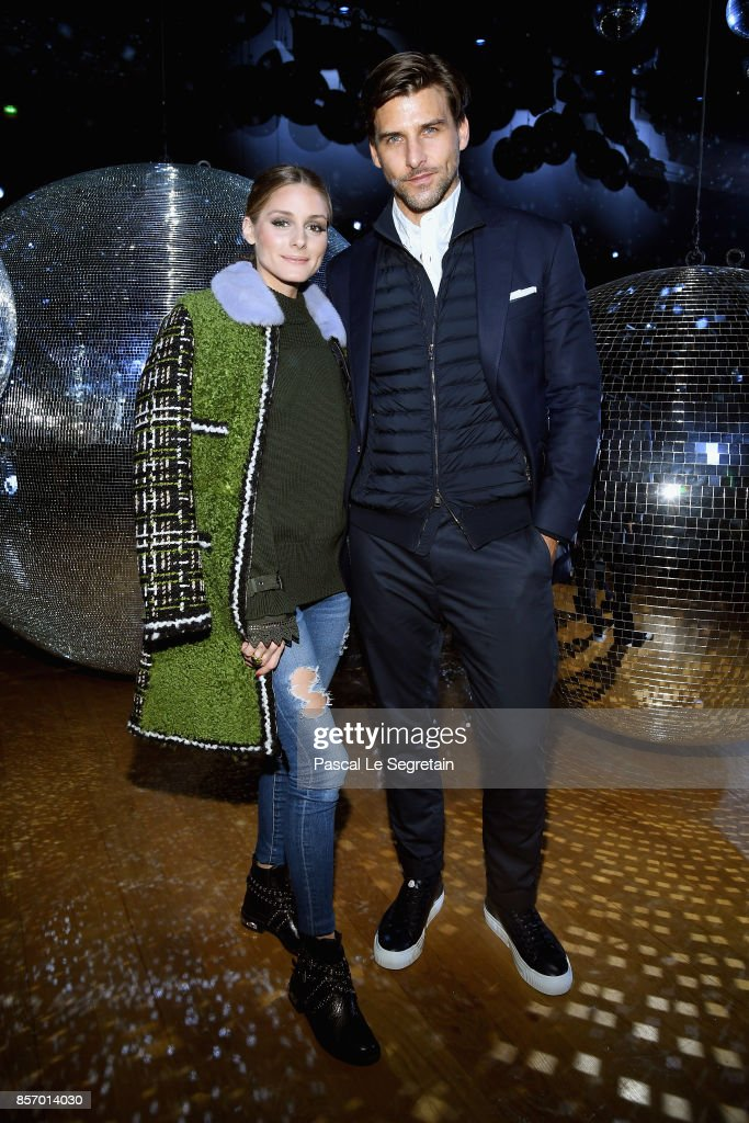 olivia-palermo-and-johannes-huebl-attend-the-moncler-gamme-rouge-show-picture-id857014030