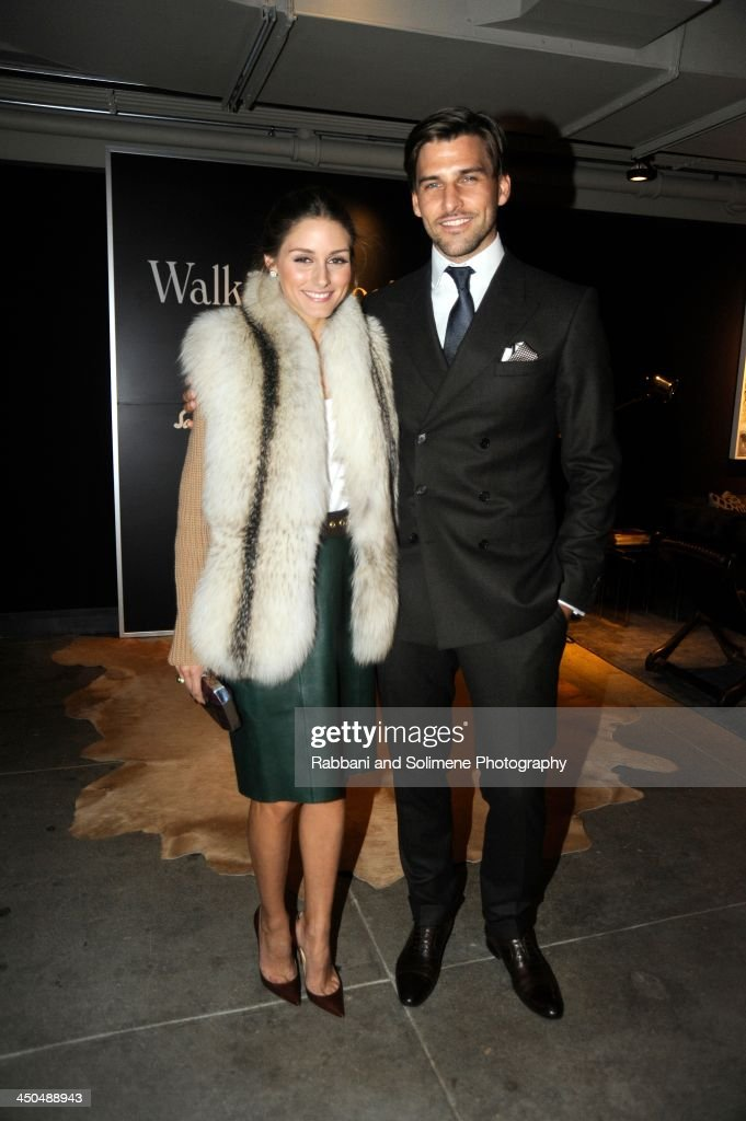 <a gi-track='captionPersonalityLinkClicked' href=/galleries/search?phrase=Olivia+Palermo&family=editorial&specificpeople=2639086 ng-click='$event.stopPropagation()'>Olivia Palermo</a> and <a gi-track='captionPersonalityLinkClicked' href=/galleries/search?phrase=Johannes+Huebl&family=editorial&specificpeople=5696811 ng-click='$event.stopPropagation()'>Johannes Huebl</a> attends a cocktail party in honor of Salvatore Ferragamo's Short Film at Neuehouse on November 6, 2013 in New York City.