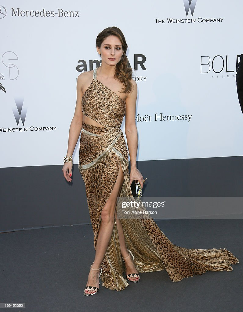 Olivia Palermo arrives at amfAR's 20th Annual Cinema Against AIDS at Hotel du Cap-Eden-Roc on May 23, 2013 in Cap d'Antibes, France.