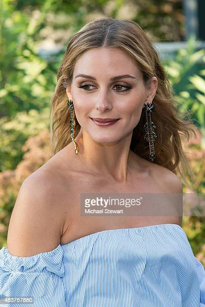 Olivia Palermo arrives at People StyleWatch Fall Fashion Party on August 12 2015 in New York City