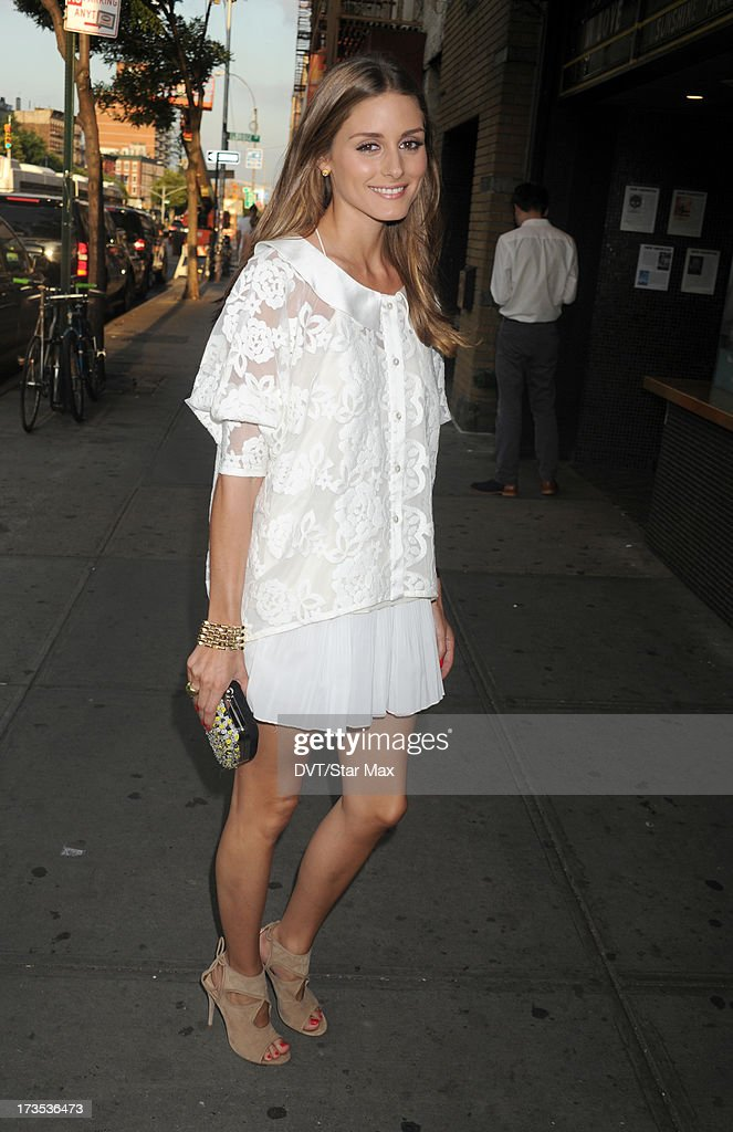 Olivia Palermo as seen on July 15, 2013 in New York City.
