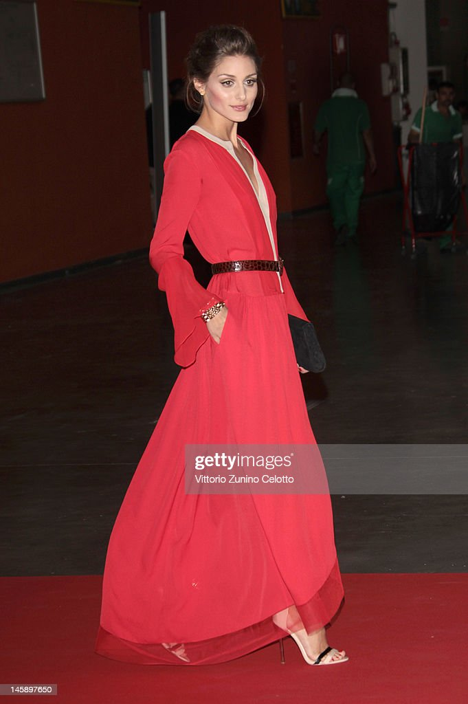 Olivia Palermo attend the 2012 Convivio charity gala event on June 7, 2012 in Milan, Italy.
