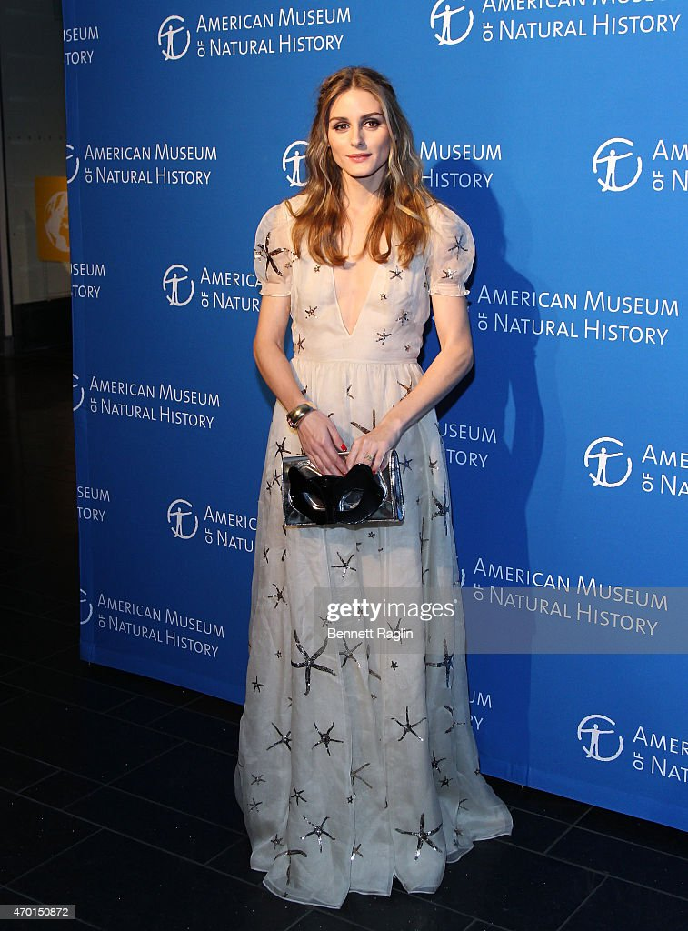 Olivia Palermo attends 2015 American Museum Of Natural History Museum Dance at American Museum of Natural History on April 17 2015 in New York City