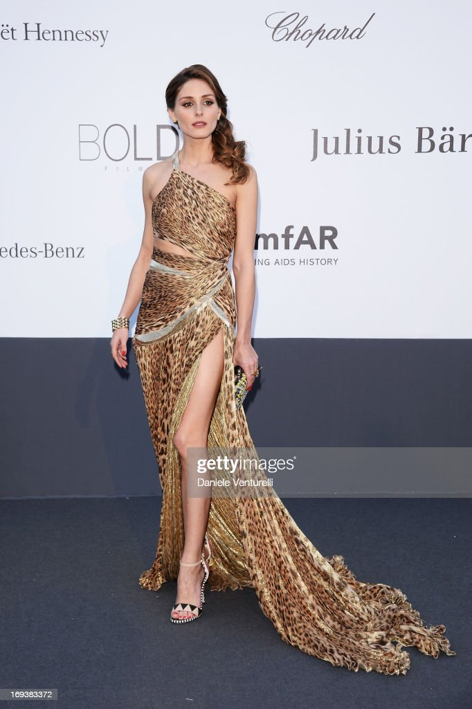 Olivia Palermo attends amfAR's 20th Annual Cinema Against AIDS during The 66th Annual Cannes Film Festival at Hotel du Cap-Eden-Roc on May 23, 2013 in Cap d'Antibes, France.