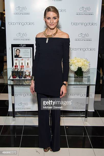 Olivia Palermo attends Ciate London collection launch at Bloomingdale's on November 5 2015 in New York City