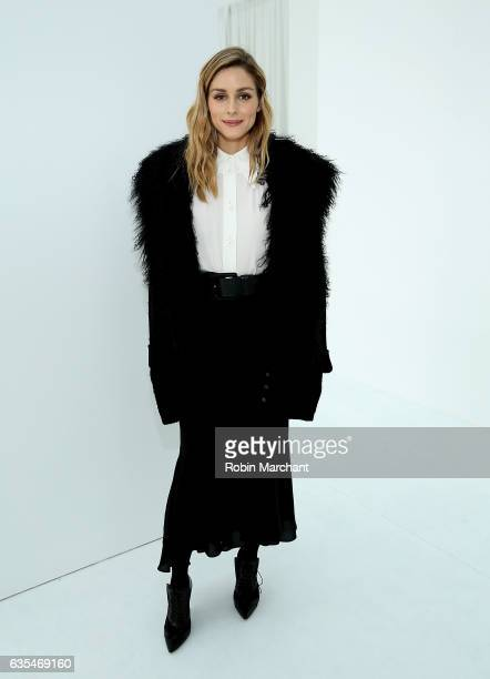 Olivia Palermo attends Delpozo during New York Fashion Week at Pier 59 Studios on February 15 2017 in New York City