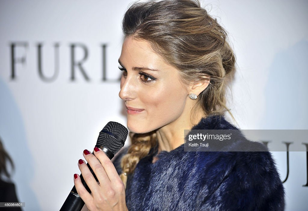 Olivia Palermo attends Furla Spring/Summer 2014 Collection Party at the Gallery of Horyuji Treasures of the Tokyo National Museum on November 18, 2013 in Tokyo, Japan.
