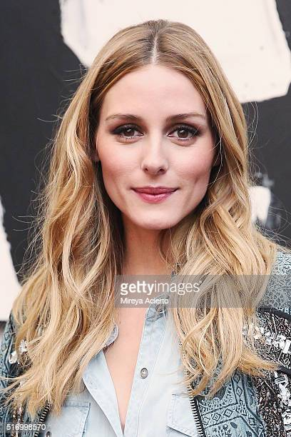 Olivia Palermo attends Kate Spade New York Home PopUp Shop on March 22 2016 in New York City