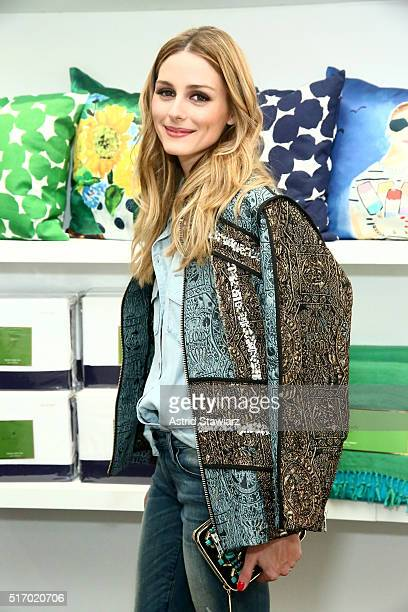 Olivia Palermo attends Kate Spade New York 'Housewarming' in celebration of the brand's home popup shop at Kate Spade New York Home PopUp Shop on...