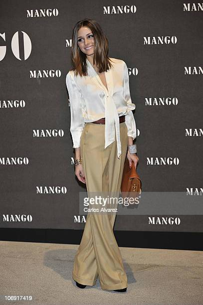 Olivia Palermo attends Mango new collection at the Palacio de Cibeles on November 16 2010 in Madrid Spain