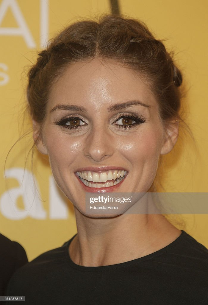 Olivia Palermo attends 'Marie Claire Prix de la moda' awards 2013 photocall at Residence of France on November 21 2013 in Madrid Spain