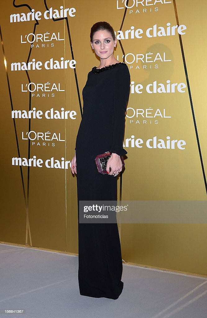 <a gi-track='captionPersonalityLinkClicked' href=/galleries/search?phrase=Olivia+Palermo&family=editorial&specificpeople=2639086 ng-click='$event.stopPropagation()'>Olivia Palermo</a> attends 'Marie Claire Prix de la Mode 2012' ceremony at the French Ambassadors Residence on November 22, 2012 in Madrid, Spain.