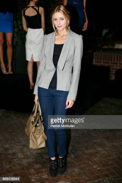 Olivia Palermo attends SUSAN WOO Spring/Summer 2010 Collection with Jewelry by Lulu Frost at Hudson Hotel on September 12 2009 in New York City