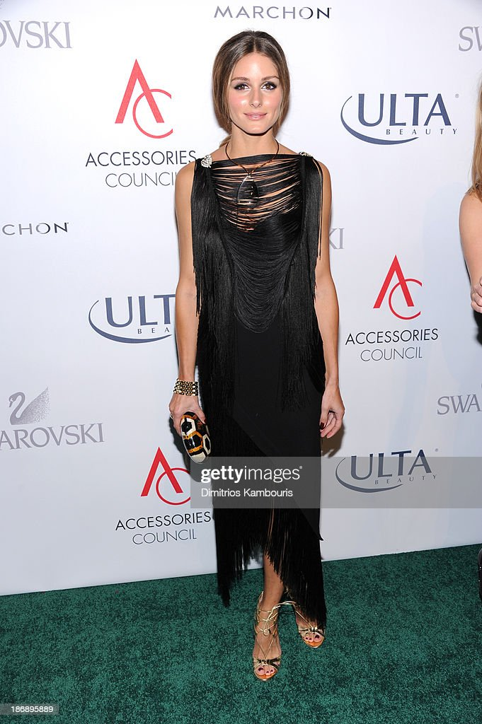 <a gi-track='captionPersonalityLinkClicked' href=/galleries/search?phrase=Olivia+Palermo&family=editorial&specificpeople=2639086 ng-click='$event.stopPropagation()'>Olivia Palermo</a> attends the 17th Annual Accessories Council ACE Awards At Cipriani 42nd Street on November 4, 2013 in New York City.